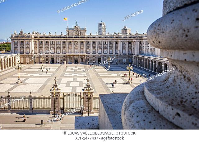 Royal Palace. Madrid. Spain