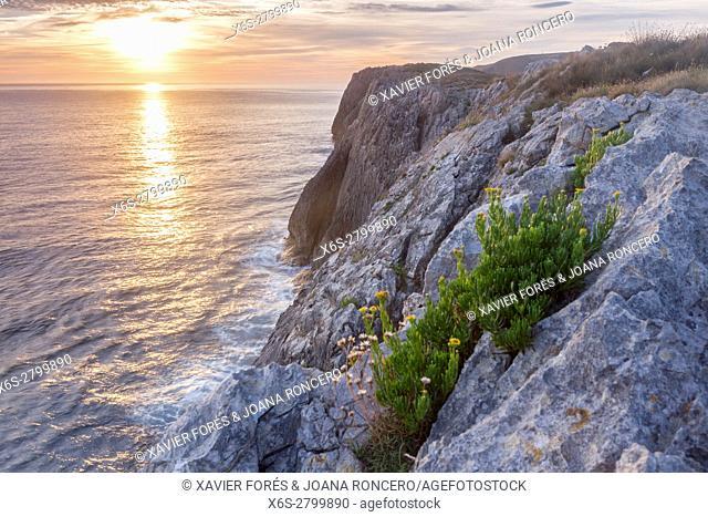 Coast near Naves, Asturias, Spain