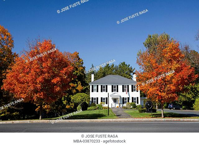 USA, Massachusetts, Berkshire District, Near Lenox City