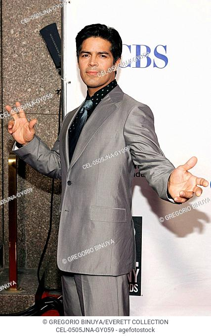 Esai Morales at arrivals for American Theatre Wing's Antoinette Perry 2005 Tony Awards, Radio City Music Hall, New York, NY, Sunday, June 05, 2005