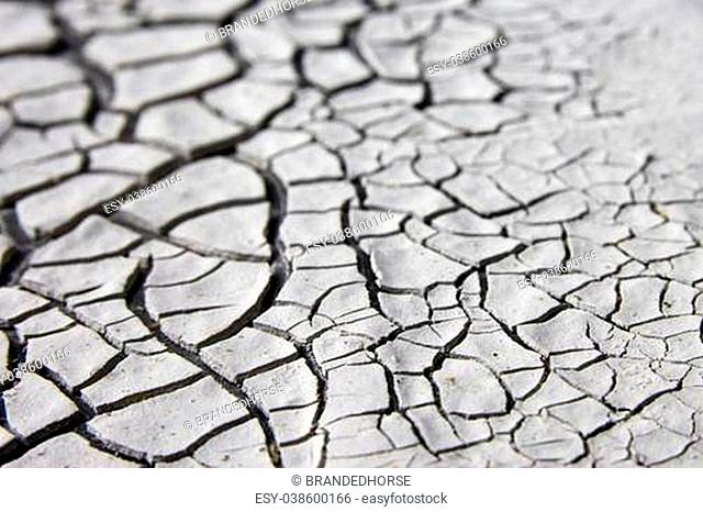 dry dirt background with fissures